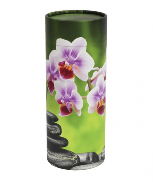Scatter Tube Orchid - urn gold coast - funeral coffin brisbane