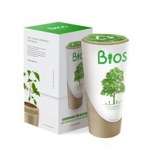 Bios Biodegradable Urn - Funeral home Logan