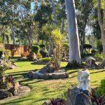 Outdoor memorial garden Gold Coast