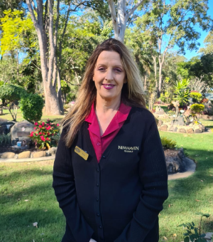Jane funeral director at eco memorial garden