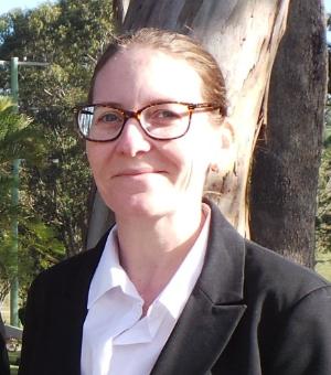 Libby funeral director at Eco memorial garden