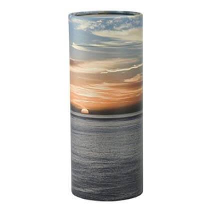 Scatter Tube Ocean Sunset - Funeral home Logan
