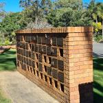 Columbarium walls at Eco Memorial Park